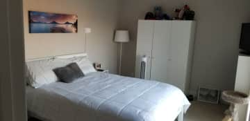 Master bedroom - can choose to stay here or in the guest bedroom