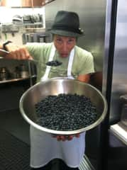 ok...perhaps I shouldn't eat all the blueberries.