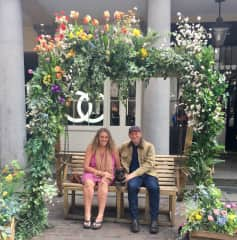 With Tallulah in Covent Garden