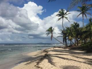 St. Croix Beach scene