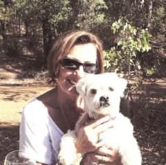 Biba & Max enjoying outdoors