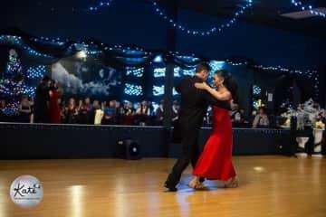 Todd and I dancing Tango in Albuquerque NM (2019)
