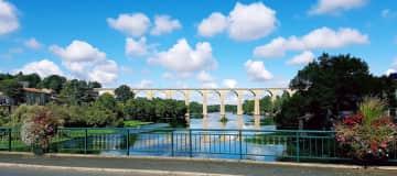 The viaduct at L'isle Jourdain