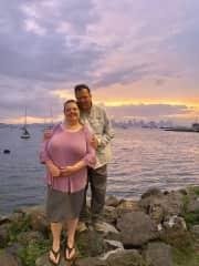 Panama City causeway
