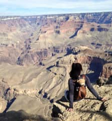 ...who travels all over the US (Grand Canyon!)...