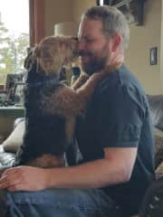 Clyde and his Daddy