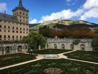 Monastery from Garden