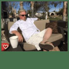 Brad at our resort in Aguanga, California