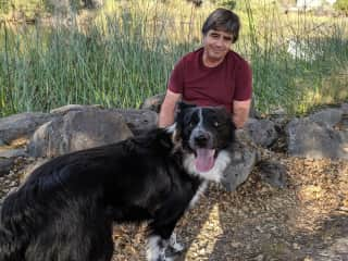 Brett & Kathy both love dogs. We enjoy dog walking with our furry friends!