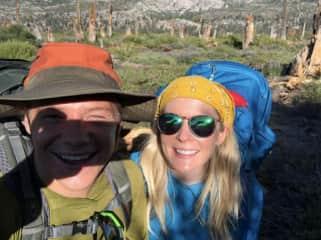Backpacking the John Muir Trail.