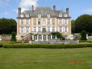 The Chateau and Formal Garden