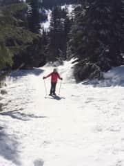 Stevens Pass Washington snowshoe adventure