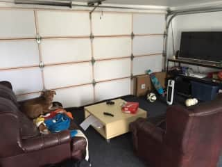 Garage / Dogs room / Man Space / Laundry