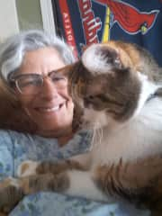 Marci and Ms. Kitty