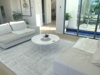 1 of 2 living areas