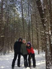 We love winter walks