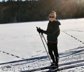 XCountry skiing - Austria (where I used to live and work)