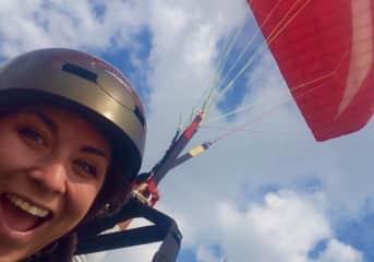 paragliding in Turkey!