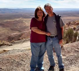 Wil and Andrea on the Trail of the Ancients - Moki Dugway / Valley of the Gods / Cedar Mesa, Utah