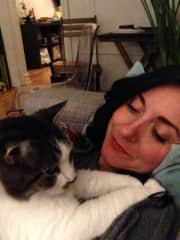 me with my cat Auto :)