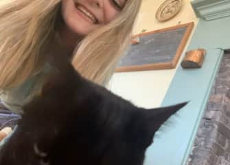 Me and Frankie The Cat!
