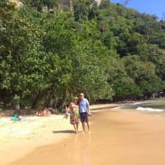 Ken and Sue in Ao Nang
