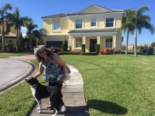 With Murray, West Palm Beach, Florida