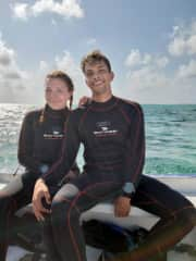 This year we received our diving certification to meet some new friends underwater