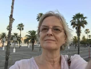 A selfie from Barcelona trip last year