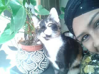 Precious with mummy.