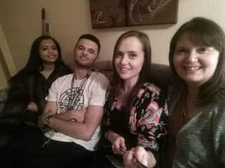 Myself and my three.