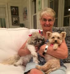 Rhonda, Jackie and Sweetie-Pie, Florida USA