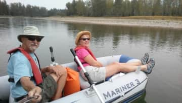 A cruise down the Snake river.