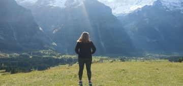 I love hiking and mountains!