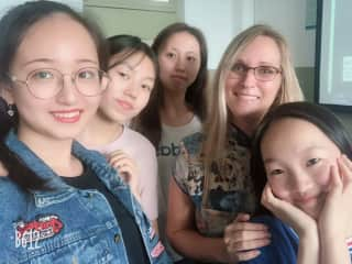 Just a few of my students from the University of Science and Technology Beijing