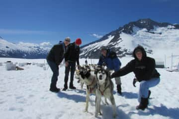 North to Alaska with our sons.