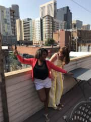 My best friend and I in Denver last year