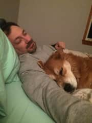 Mike and Fat Dog