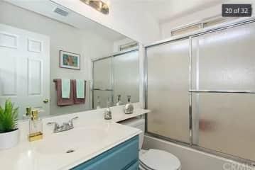 2 1/2 baths. This is guest bathroom.
