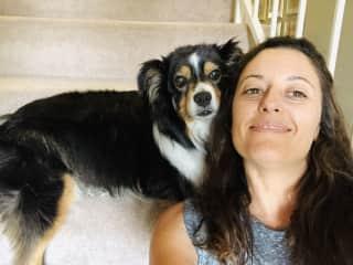 Petsitting Riley in Ashland, OR Aug 2018