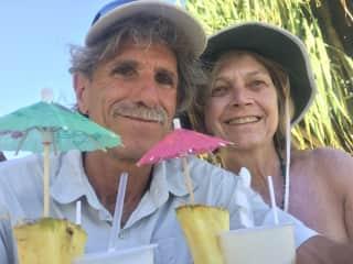 Greg and Karyn in Costa Rica