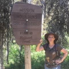 Hiking in Montana