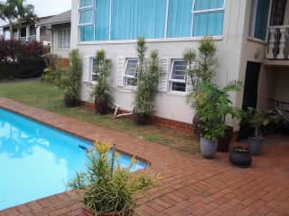 This is our home in S. Africa. We have lived here for over 30 years. This is where we raised our two sons with numerous pets being part of the family over the years.