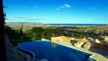 pool and view beyond