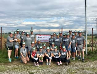 Leading our July 2019 volunteer team in Romania.