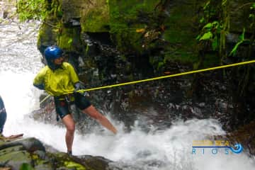 canyoning in Costa Rica!