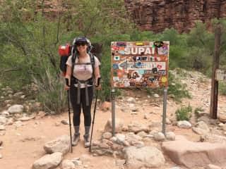 I really enjoy hiking/backpacking, and went to Havasupai, Arizona in 2018!