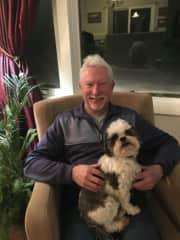 Say hi to Desi. The ultimate lap dog.