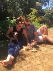 Laura Matt Phoebe and Rocco