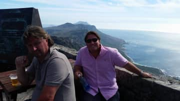 Top of Table Mountain. Cape Town. South Africa